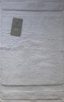 Bademayer Prestige - Frottier Gästetuch Größe 30 x 50 cm.  aus 100% Ägyptischer Gekämmter Baumwolle Weiß Fusselfrei